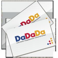 Банковская карта DaDaDa 15/40 (активация)